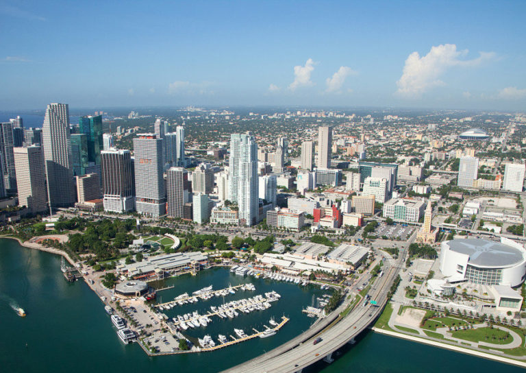 Downtown Miami in 2011