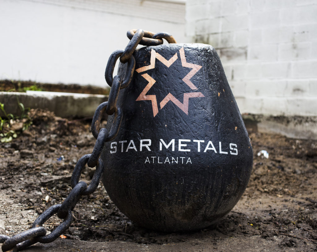Wrecking Ball Star Metals Atlanta